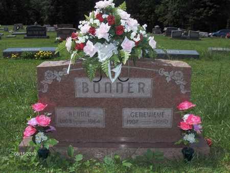 BONNER, GENEVIEVE - Barbour County, West Virginia | GENEVIEVE BONNER - West Virginia Gravestone Photos