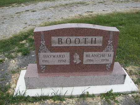 BOOTH, BLANCHE M - Barbour County, West Virginia | BLANCHE M BOOTH - West Virginia Gravestone Photos