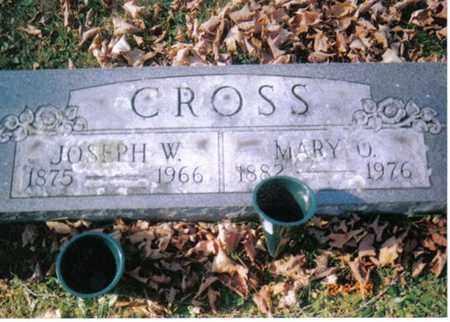 CROSS, JOSEPH W - Barbour County, West Virginia | JOSEPH W CROSS - West Virginia Gravestone Photos