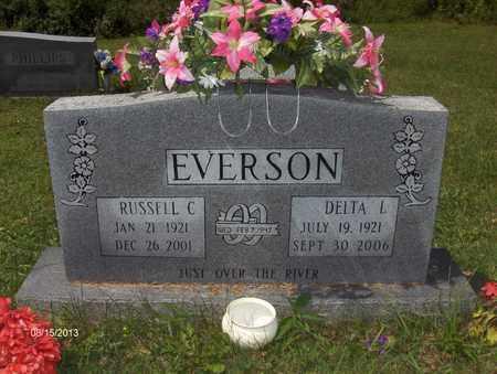 GOLDEN EVERSON, DELTA - Barbour County, West Virginia   DELTA GOLDEN EVERSON - West Virginia Gravestone Photos