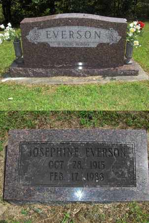 EVERSON, JOSEPHINE - Barbour County, West Virginia | JOSEPHINE EVERSON - West Virginia Gravestone Photos
