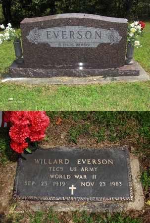EVERSON (VETERAN WWII), WILLARD - Barbour County, West Virginia   WILLARD EVERSON (VETERAN WWII) - West Virginia Gravestone Photos