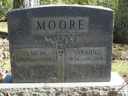 MOORE, LABON - Barbour County, West Virginia   LABON MOORE - West Virginia Gravestone Photos