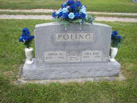 BOSELY POLING, ORA MAE - Barbour County, West Virginia | ORA MAE BOSELY POLING - West Virginia Gravestone Photos