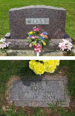 EVERSON ROSS, CARRIE - Barbour County, West Virginia   CARRIE EVERSON ROSS - West Virginia Gravestone Photos