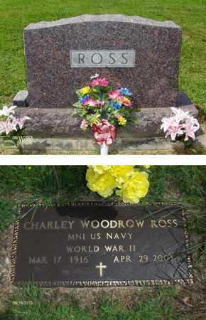 ROSS (VETERAM WWII), CHARLEY - Barbour County, West Virginia | CHARLEY ROSS (VETERAM WWII) - West Virginia Gravestone Photos