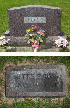 HERRON ROSS, NETTIE - Barbour County, West Virginia | NETTIE HERRON ROSS - West Virginia Gravestone Photos