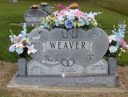 WEAVER, JACKIE - Barbour County, West Virginia | JACKIE WEAVER - West Virginia Gravestone Photos