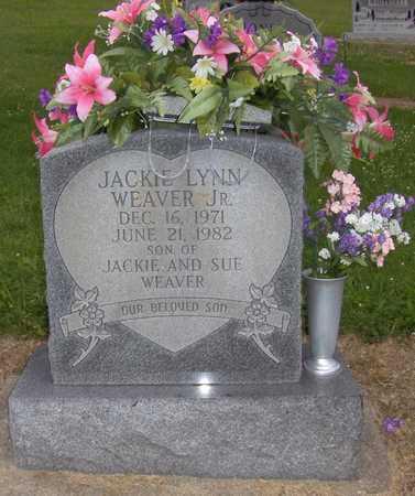 WEAVER, JR., JACKIE - Barbour County, West Virginia | JACKIE WEAVER, JR. - West Virginia Gravestone Photos