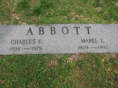 ABBOTT, CHARLES E - Boone County, West Virginia | CHARLES E ABBOTT - West Virginia Gravestone Photos