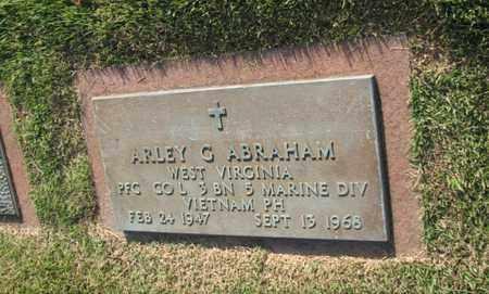 ABRAHAM (VETERAN VIET), ARLEY G - Boone County, West Virginia | ARLEY G ABRAHAM (VETERAN VIET) - West Virginia Gravestone Photos