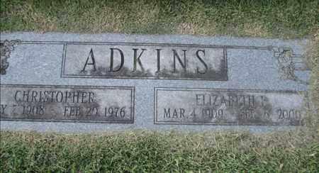 ADKINS, ELIZABETH E - Boone County, West Virginia | ELIZABETH E ADKINS - West Virginia Gravestone Photos