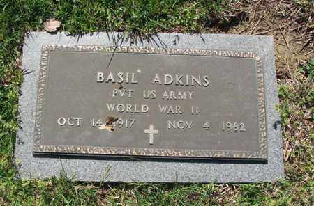 ADKINS (VETERAN WWII), BASIL - Boone County, West Virginia | BASIL ADKINS (VETERAN WWII) - West Virginia Gravestone Photos