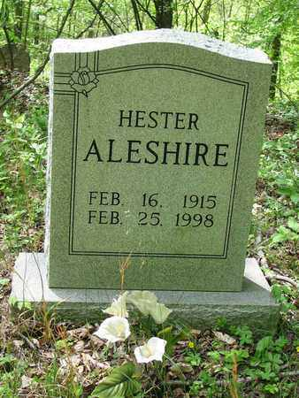 ALESHIRE, HESTER - Boone County, West Virginia | HESTER ALESHIRE - West Virginia Gravestone Photos