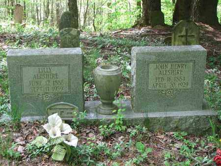 ALESHIRE, JOHN HENRY - Boone County, West Virginia | JOHN HENRY ALESHIRE - West Virginia Gravestone Photos