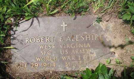 ALESHIRE (VETERAN WWI & WWII), ROBERT EVERETT - Boone County, West Virginia   ROBERT EVERETT ALESHIRE (VETERAN WWI & WWII) - West Virginia Gravestone Photos