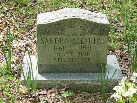 ALESHIRE, SANDRA - Boone County, West Virginia | SANDRA ALESHIRE - West Virginia Gravestone Photos