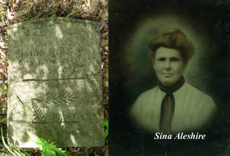 ALESHIRE, SINA LEORA - Boone County, West Virginia | SINA LEORA ALESHIRE - West Virginia Gravestone Photos