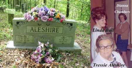 HILL ALESHIRE, TRESSIE F - Boone County, West Virginia | TRESSIE F HILL ALESHIRE - West Virginia Gravestone Photos