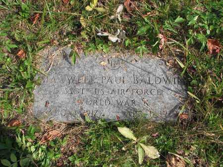 BALDWIN  (SGT AIR FORCE), MAXWELL PAUL - Boone County, West Virginia   MAXWELL PAUL BALDWIN  (SGT AIR FORCE) - West Virginia Gravestone Photos