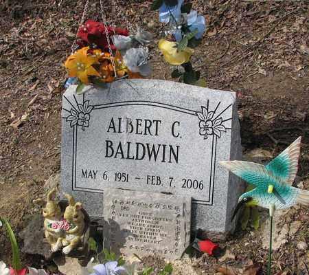 BALDWIN, ALBERT CLINTON - Boone County, West Virginia | ALBERT CLINTON BALDWIN - West Virginia Gravestone Photos