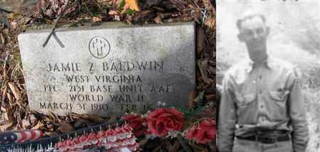 BALDWIN (ARMY WW II), JAMIE Z - Boone County, West Virginia   JAMIE Z BALDWIN (ARMY WW II) - West Virginia Gravestone Photos