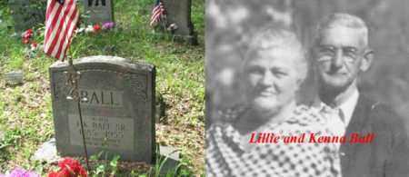 BALL  SR., FLOYD KENNA - Boone County, West Virginia | FLOYD KENNA BALL  SR. - West Virginia Gravestone Photos