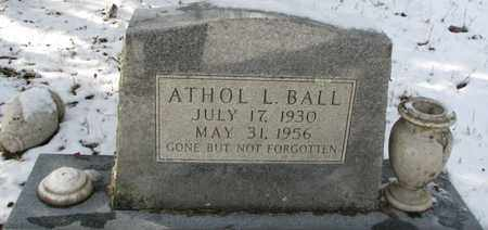 "BALL, ATHOL LEE ""RED"" - Boone County, West Virginia 