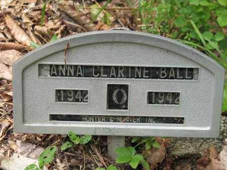 BALL, ANNA CLARINE - Boone County, West Virginia | ANNA CLARINE BALL - West Virginia Gravestone Photos