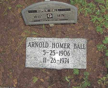 "BALL, ARNOLD HOMER ""PADDLEFOOT"" - Boone County, West Virginia 