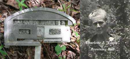 """BALL, CHARLOTTE J. """"LOTTIE"""""""" - Boone County, West Virginia 