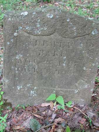 "BALL, DEWEY ""SAMUEL"" - Boone County, West Virginia   DEWEY ""SAMUEL"" BALL - West Virginia Gravestone Photos"