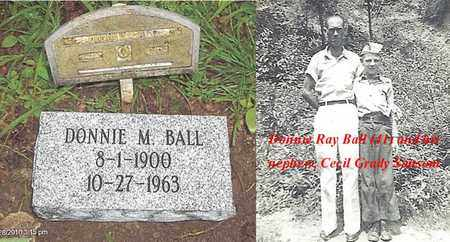 BALL, DONNIE RAY - Boone County, West Virginia | DONNIE RAY BALL - West Virginia Gravestone Photos
