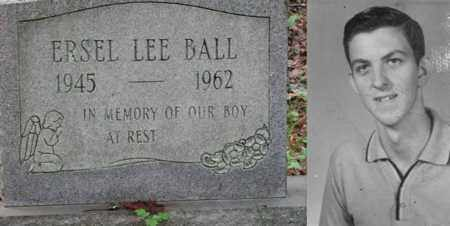 BALL, ERSEL LEE - Boone County, West Virginia | ERSEL LEE BALL - West Virginia Gravestone Photos