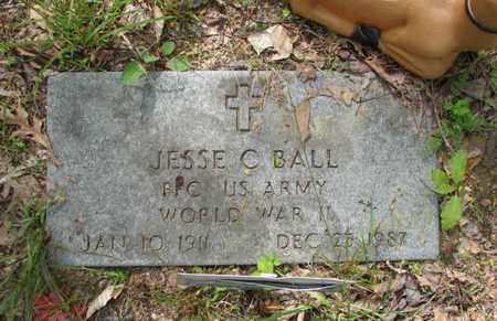 "BALL, JESSE C ""JACK"" - Boone County, West Virginia | JESSE C ""JACK"" BALL - West Virginia Gravestone Photos"