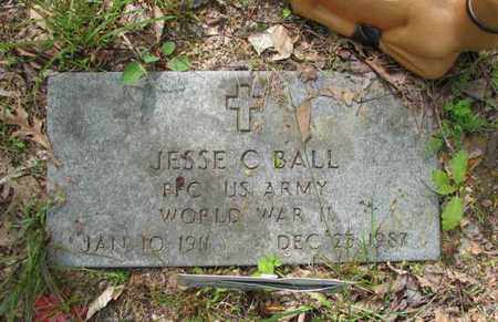 "BALL, JESSE C ""JACK"" - Boone County, West Virginia 