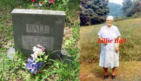 BALL, LILLIE - Boone County, West Virginia   LILLIE BALL - West Virginia Gravestone Photos