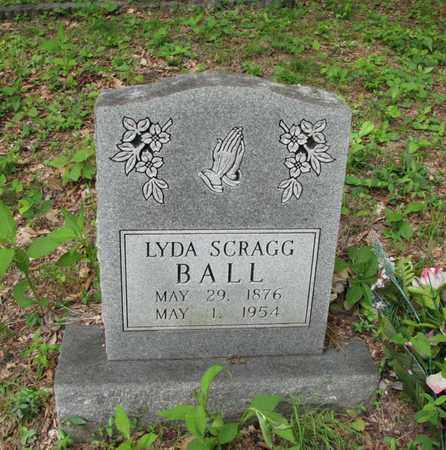 SCRAGG BALL, LYDA - Boone County, West Virginia | LYDA SCRAGG BALL - West Virginia Gravestone Photos