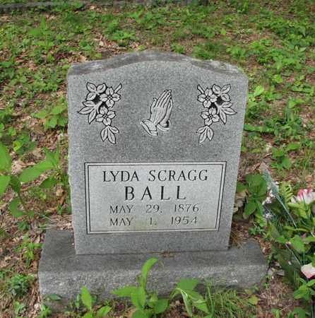 SCRAGG BALL, LYDA - Boone County, West Virginia | LYDA SCRAGG BALL - West Virginia Gravestone Photos