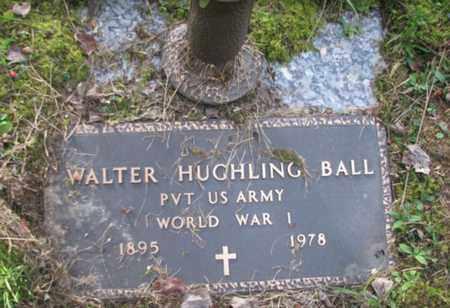 BALL, WALTER HUGHLING - Boone County, West Virginia | WALTER HUGHLING BALL - West Virginia Gravestone Photos