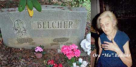 MEEKS BELCHER, ORA STEVENSON - Boone County, West Virginia | ORA STEVENSON MEEKS BELCHER - West Virginia Gravestone Photos