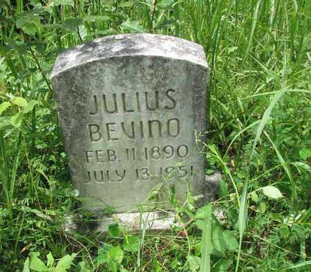 BEVINO, JULIUS - Boone County, West Virginia | JULIUS BEVINO - West Virginia Gravestone Photos