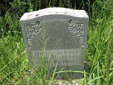 BEVINO, LOUISE - Boone County, West Virginia | LOUISE BEVINO - West Virginia Gravestone Photos