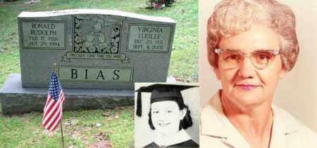 BIAS, VIRGINIA LUCILLE - Boone County, West Virginia | VIRGINIA LUCILLE BIAS - West Virginia Gravestone Photos