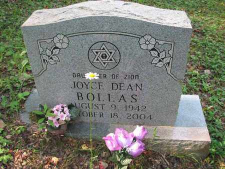 BOLLAS, JOYCE DEAN - Boone County, West Virginia | JOYCE DEAN BOLLAS - West Virginia Gravestone Photos