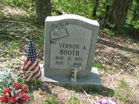 BOOTH, VERNON A - Boone County, West Virginia | VERNON A BOOTH - West Virginia Gravestone Photos