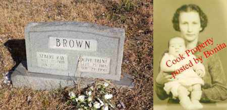 BROWN, OLIVE IRENE - Boone County, West Virginia | OLIVE IRENE BROWN - West Virginia Gravestone Photos