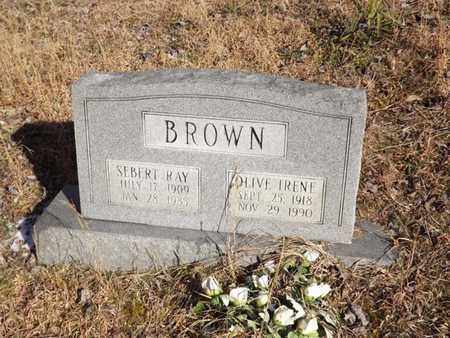BROWN, SEBERT RAY - Boone County, West Virginia | SEBERT RAY BROWN - West Virginia Gravestone Photos