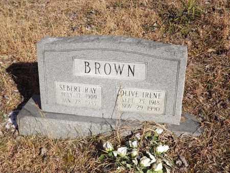 BROWN, SEBERT RAY - Boone County, West Virginia | SEBERT RAY BROWN - West Virginia Gravestone Photos