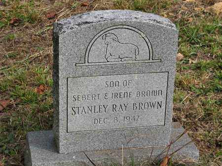 BROWN, STANLEY RAY - Boone County, West Virginia | STANLEY RAY BROWN - West Virginia Gravestone Photos